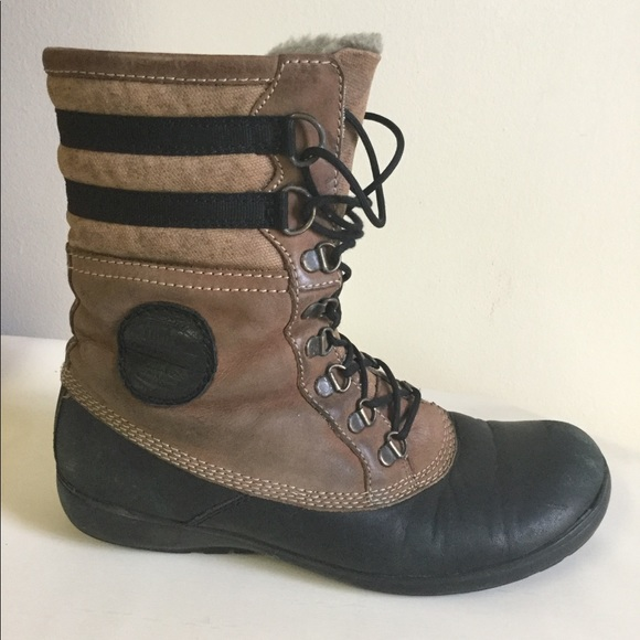 7383f63f7bb The Original VAGABOND Womens Leather Boots NEVER C